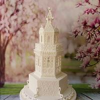 Royal icing Ornamental structure  by Prachi Dhabaldeb