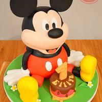 Mickey Mouse by Strawberry Lane Cake Company