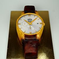 Omega Watch Cake