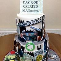 I love Manchester Cake