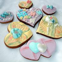 cookies, valentine by Valeria Sotirova