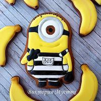 Minion and bananas