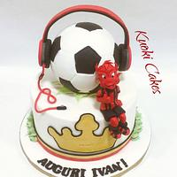 Milan cake Birthday