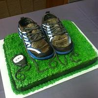 Groom's Cake for Marathon Runner