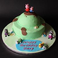 Peppa pig cake  by Lea17