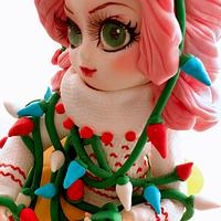 Pullip tangled in christmas