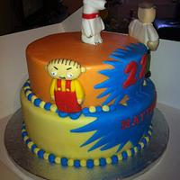 Family guy cake by Mark