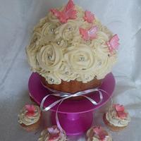 Vanilla Giant Cupcake