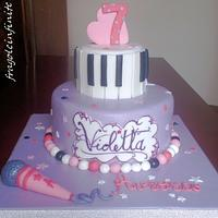 Violetta Themed Cake - Torta a tema Violetta