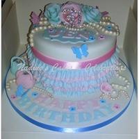 Pink & Blue Frills & Pearls