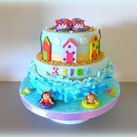 Flipflop cake
