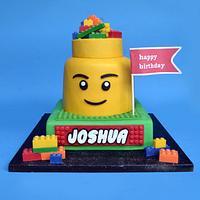 Lego cake for Joshua