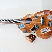Guitar/Ukelele Cake