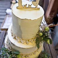 Nature wedding cake