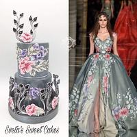 My creation for Couture Cakers  Collaboration 2018.