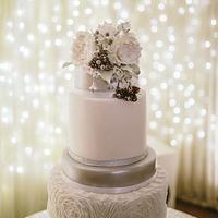 Winter Ruffle cake
