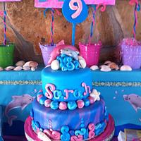 Birthday Cake Dolphin