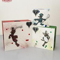 """Standing Cakes: Kingdom Hearts - The Sugar Fraternity """"Game On"""" Collaboration"""