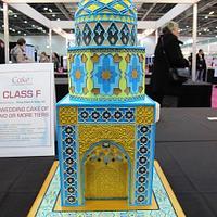 Iranian Mosque Wedding Cake by Natasha Shomali
