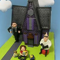 Despicable Me House Cake