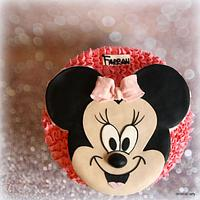 Farrah's Minnie Mouse cake