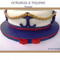 SAILOR BEAR CAKE by Ana Remígio - CUPCAKES & DREAMS Portugal