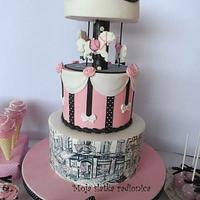 Carousel cake