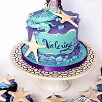 Mermaid Themed Birthday Set