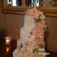1st Wedding cake