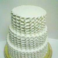 Petal Wedding Cake