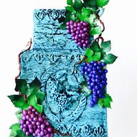 Grapes for Childen ~ Sugar Art for Autism Collaboration 2017