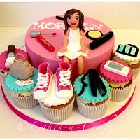Favourite things of a girl cake and cupcakes