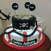 Pirate Cake by Rosa