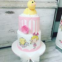 Duck 2 birthday cake