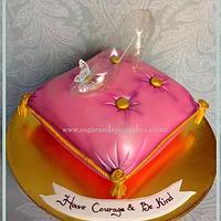 Cinderella's Glass Slipper Cake