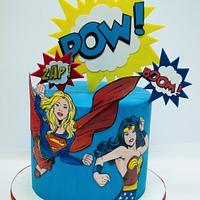 Girls power cake
