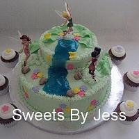 Tinkerbell Cake/Cupcakes