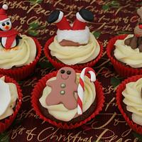 Christmas Cupcakes second set