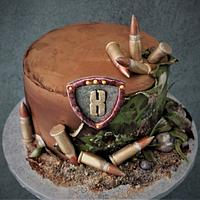 army cake for a boy