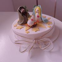 Dummy cake for Christmas