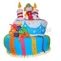 Clown cake / Tort z klaunem