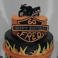 'Harley' Birthday Cake