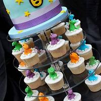 Dino Party Celebration Tower!