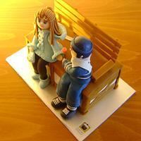 St. Valentine's Day cake (Canada 2013).