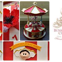 Carousel Cake for Nico by Sheryl BITO