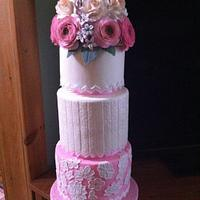 Wedding cake dummy