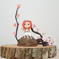 Blossom Bloom - Away with the Fairies Centrepiece