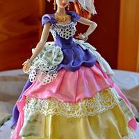 Cindi Lauper doll cake