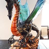 Sugarpaste Dragon sculpter
