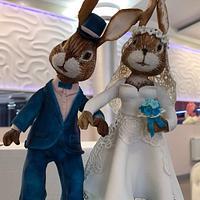 """Wedding cake """"Sweet Bunny"""""""